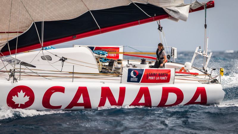 O Canada Retires from Transat Saint Barths  but Skipper Sails On